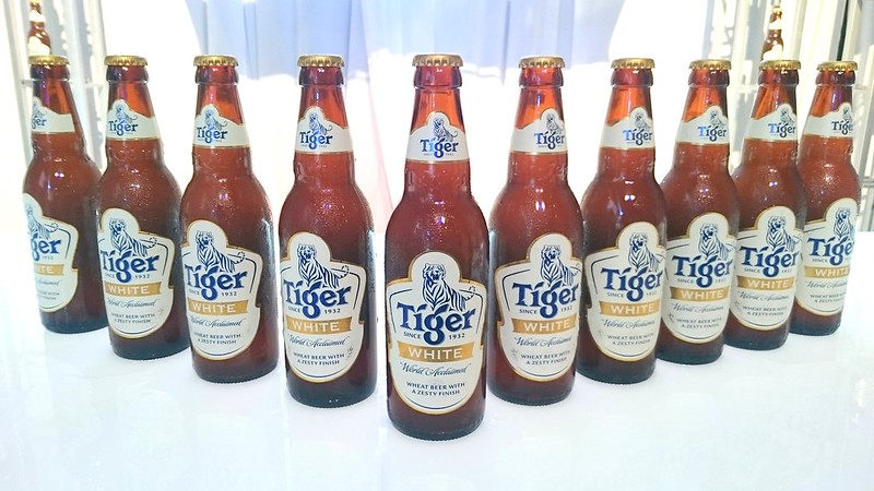 Tiger White Wheat Beer Launch 2015