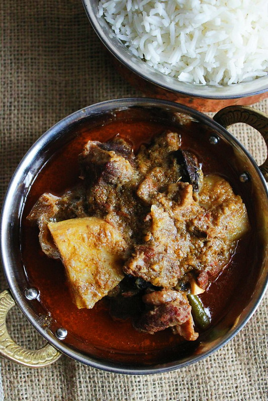 Gosht Aloo. A Sylheti Classic, Mutton and Potato curry.