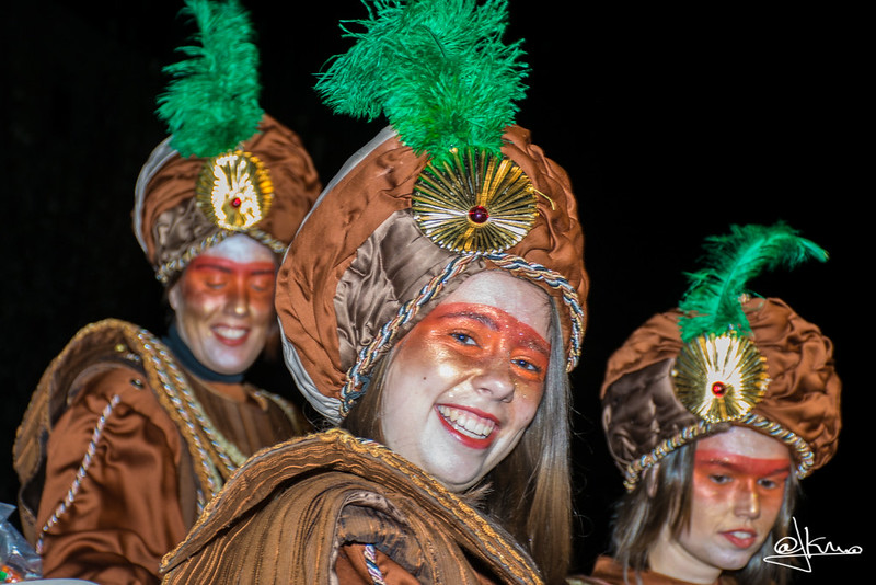 Pajes, Cabalgata de Reyes Magos en Sant Joan Despí 2016