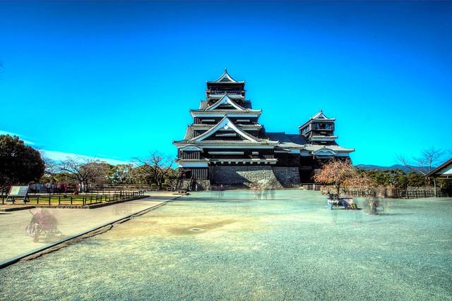 Kumamoto castle : HDR