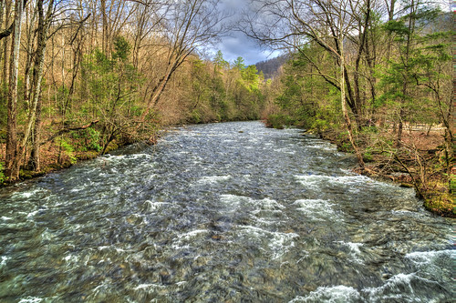 trees clouds flow rocks picnic tennessee rapids flowing hdr littleriver greatsmokymountainsnationalpark sonya7rii
