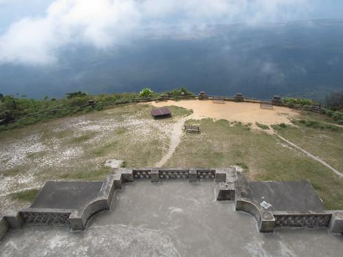 Parc National du Bokor: vue depuis le Vieux Palace