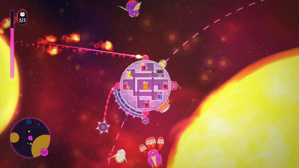 Lovers in a Dangerous Spacetime para o PS4