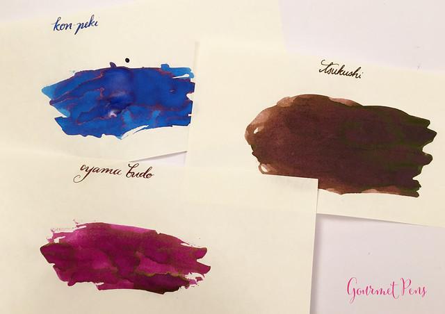 Ink Shot Pilot Iroshizuku Mini Boxed Set - Kon-Peki, Tsukushi & Yama-Budo (17)