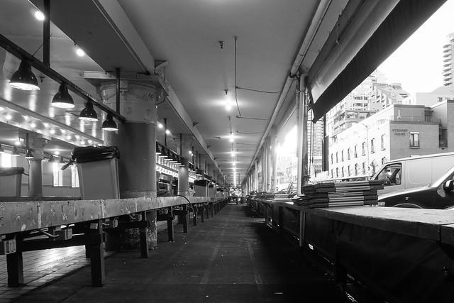 Verlassener Pike Market