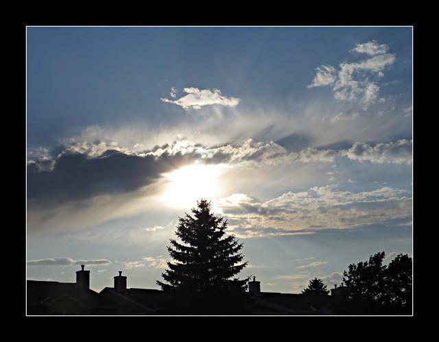 Dramatic Twilght Sky