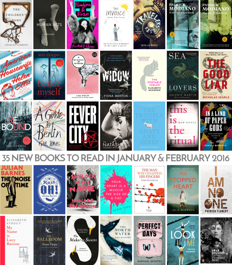 35 NEW BOOKS TO READ IN JANUARY & FEBRUARY 2016