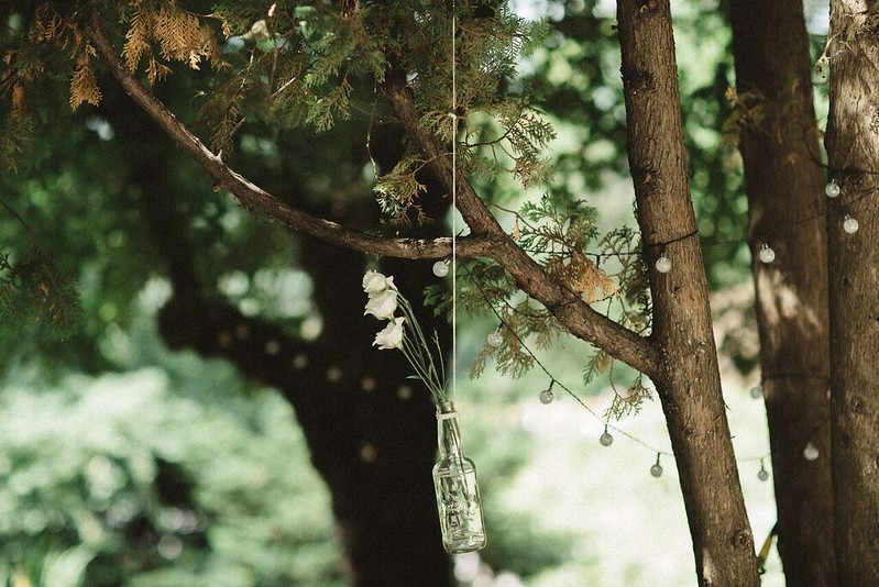 Outdoor Simple Wedding decoration | Wedding in Montreal | fabmood.com