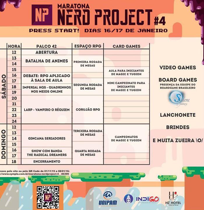 Vem aí a quarta edição da Maratona Nerd Project!