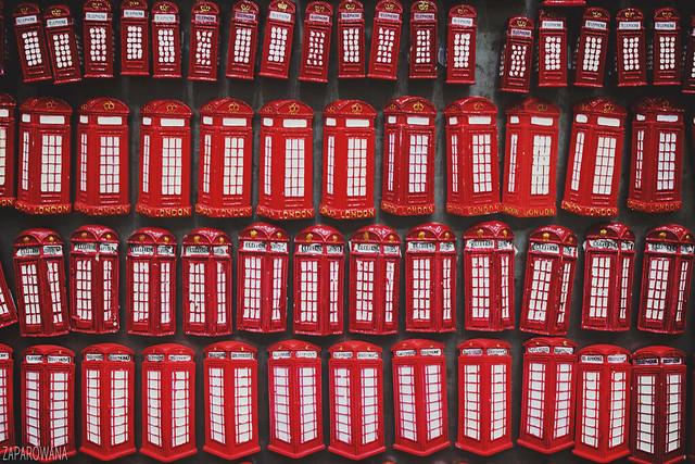 London in November // fot. ZAPAROWANA