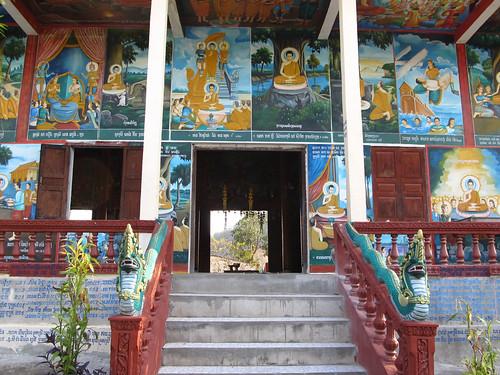 La campagne de Battambang: le temple de Phnom Sampeu