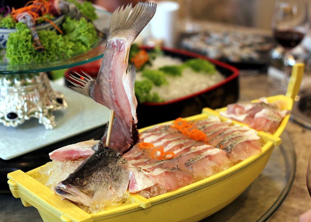 Fu Lin Men Dou Lao: Fresh Live Seabass