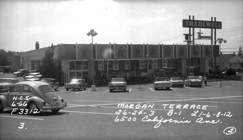 West Seattle Tradewell, 1966