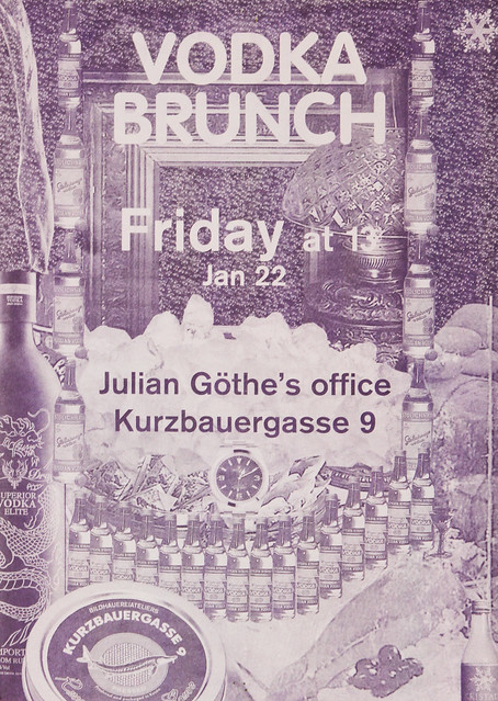 Vodka Brunch Poster