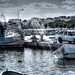 Fishing boat and fisherman in Marsaxlokk