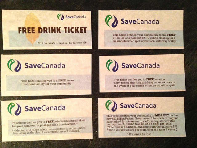 TICKET - SaveCanada FREE DRINK TICKET - Collect the whole set! (Jan. 28, 2016)