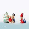 Clothespins family & Santa.