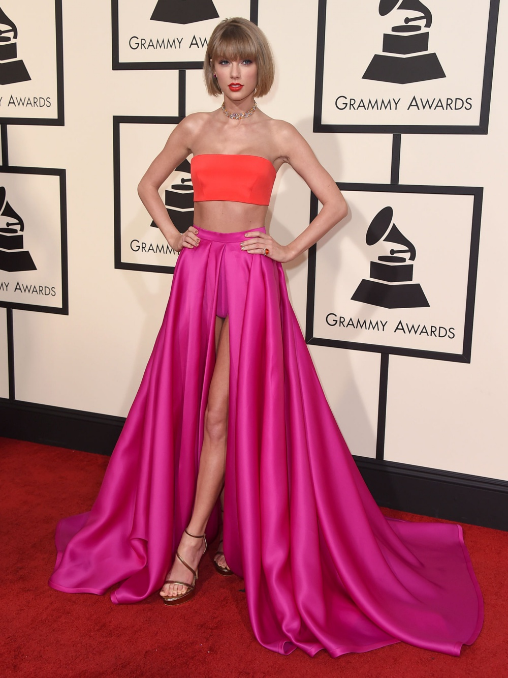 Taylor Swift Grammys 2016 Best Dressed Celebrities