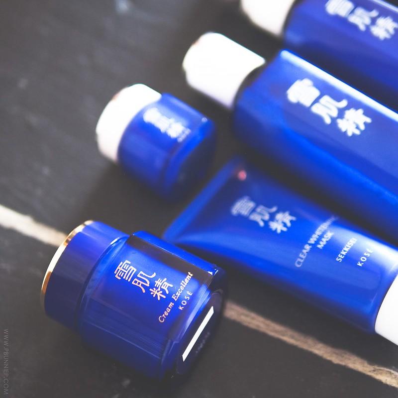 Sekkisei Japanese Whitening Skincare