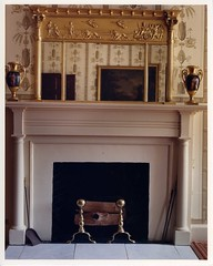 Old St. Paul's Rectory, Front Parlor Fireplace