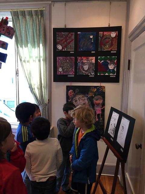 2M Art Exhibit Visit