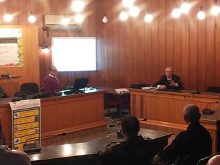 Domenico Valenzano e il dott. Pasquale Garella