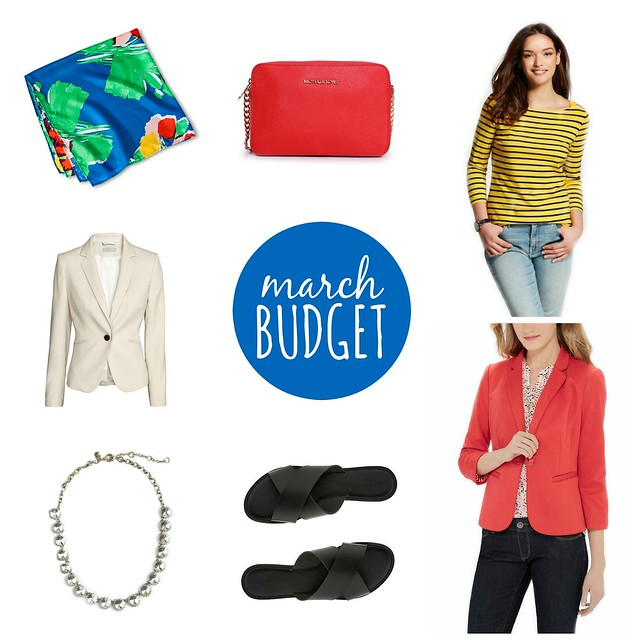 March 2016 budget | Style On Target