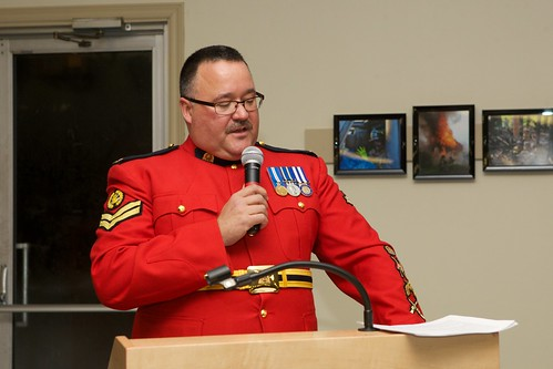 RCMP Corp. Rob Lewis, guest speaker