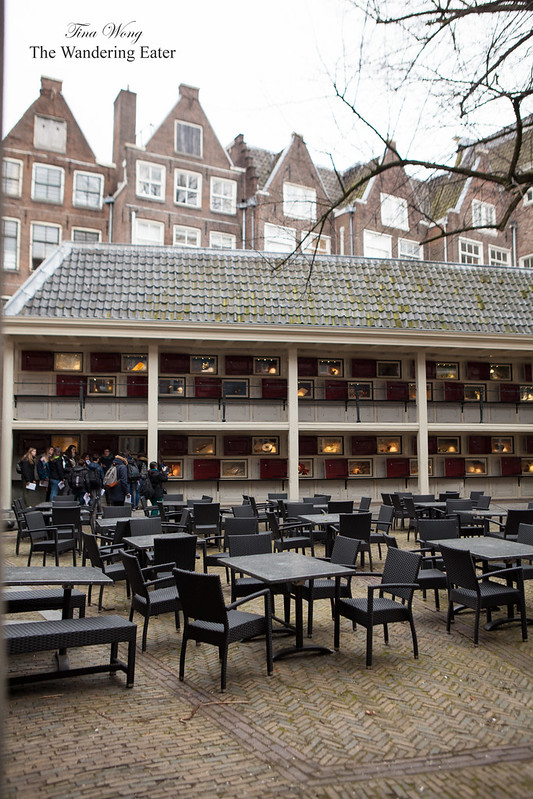 Courtyard of Amsterdam Museum