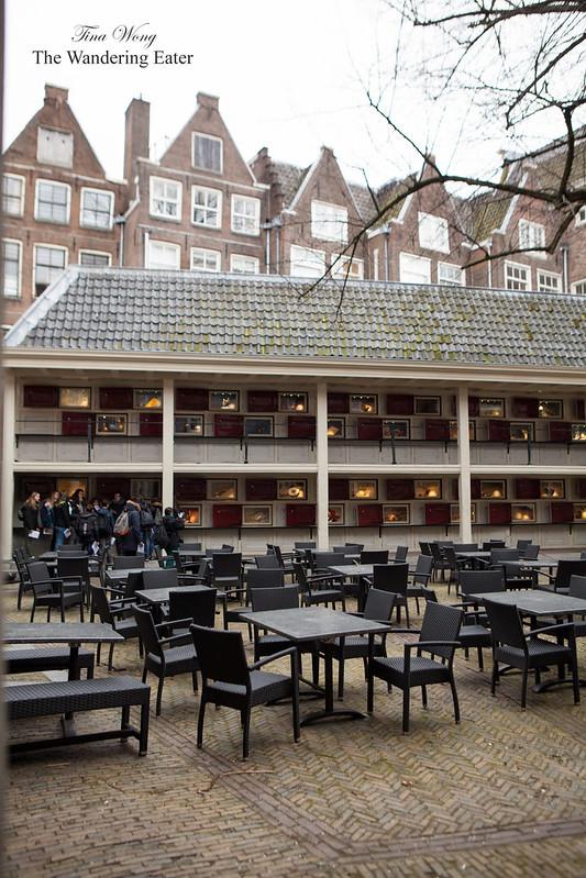 Courtyard of Amsterdam Museum
