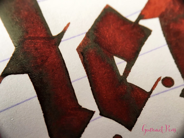 Ink Shot Review Diamine 150th Anniversary Terracotta @AppelboomLa (5)