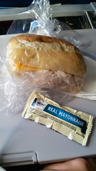 Lunch On My Flight Down To Puerto Rico