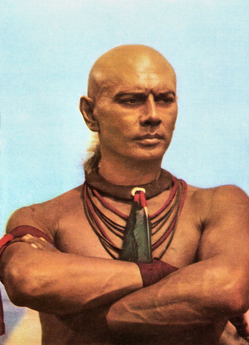 Yul Brynner in Kings of the Sun (1963)