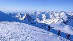 Szlak podejściowy na Gran Paradiso 4061m