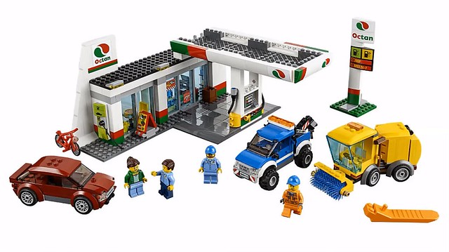 LEGO City 60132 - Service Station