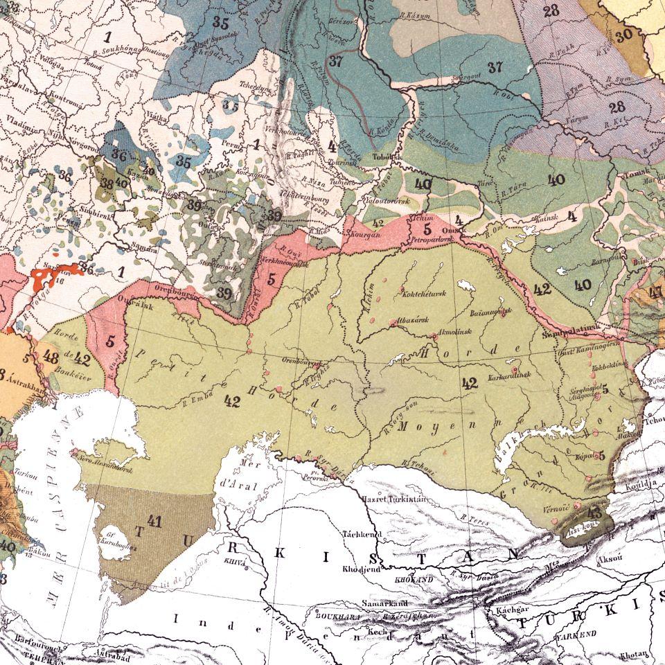 казахстан стена