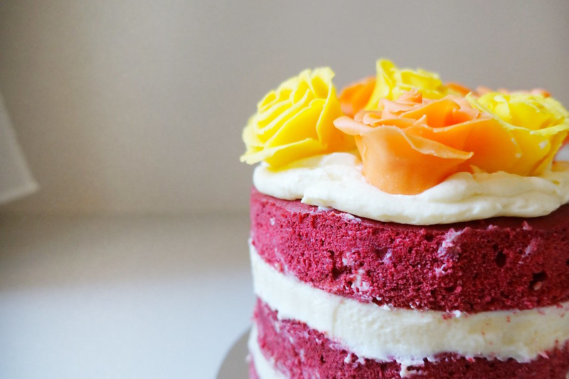 3 layer Red Velvet Cake