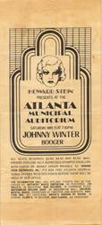 Saturday, 15 May 1971: Municipal Auditorium, Atlanta , GA