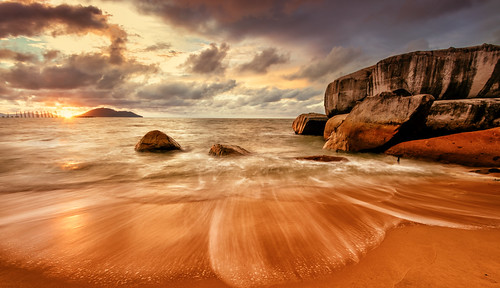 travel sunset seascape west tourism beach indonesia landscape nikon borneo d750 nikkor kalimantan 1635mm singkawang vsco vscofilm