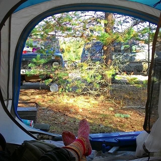 Туристическая палатка