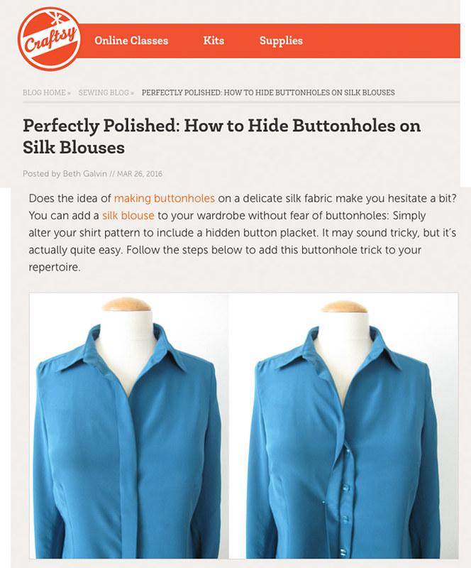 Craftsy silk blouse post