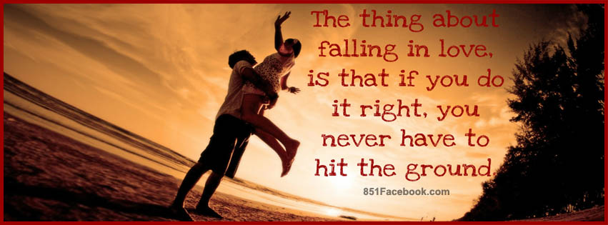 Quote Love Couple  Romance Romantic Beach Boy Girl Together Falling Best Free Top Facebook Timeline Cover Banner Photo Image Pic Picture For Fb Profile