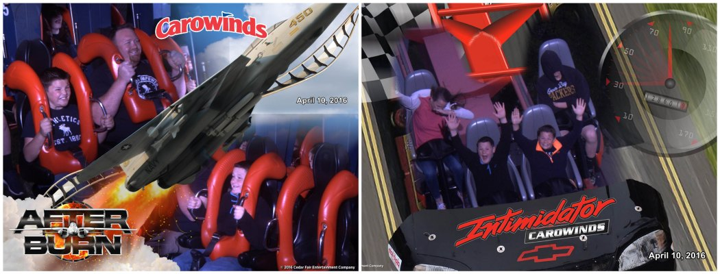 carowinds ride pics 4/10 2