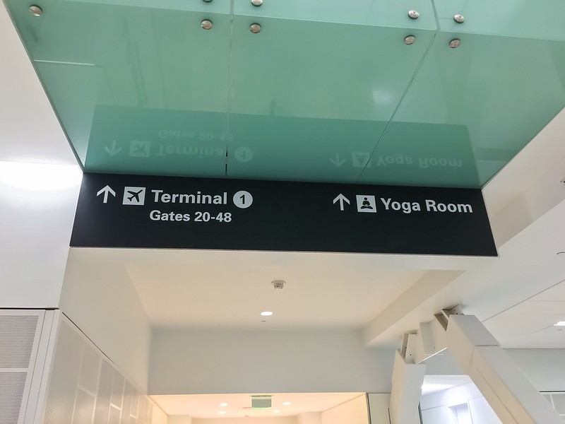 Which Way to the Yoga Room?