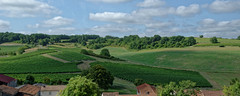 La vue depuis le château de Bouteville - Charente