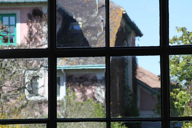 impressionistic glass panes