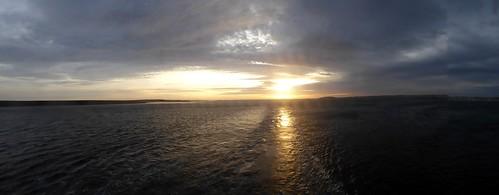 sunset atsea falklandislands norwegiansun
