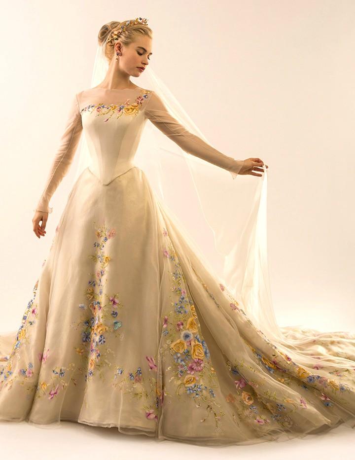 Robe de mariée de Cendrillon