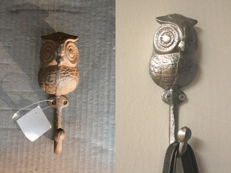 Painted owl hook