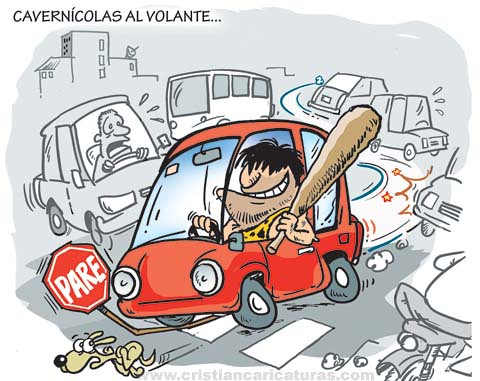 Cavernícolas al volante